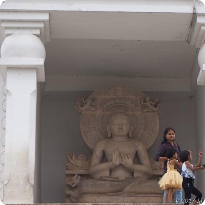 Buddha Idol at Dhauligiri