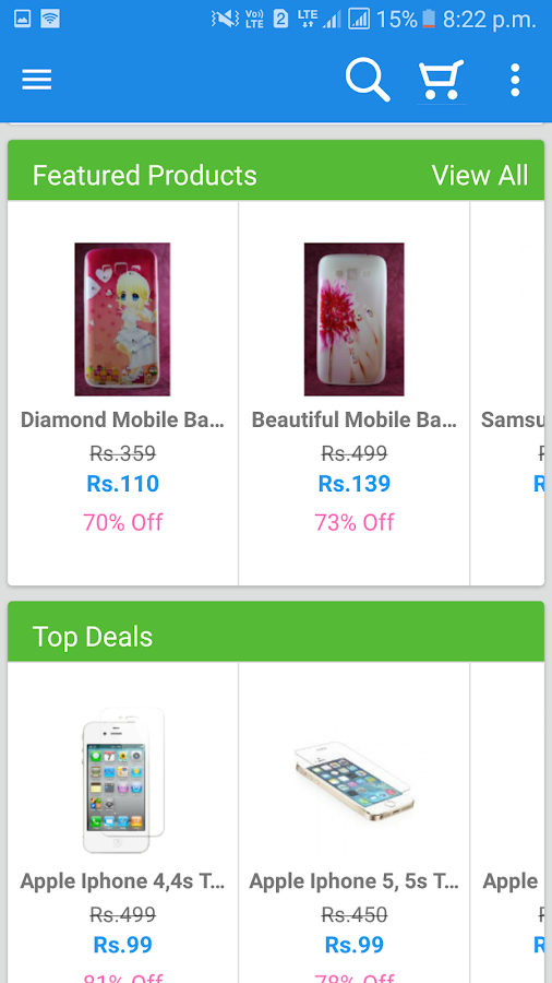 Mobtym - Online Shopping India- screenshot