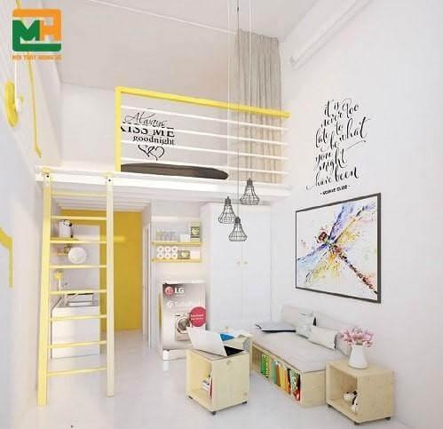 Trang trí phòng trọ theo kiểu chung cư mini