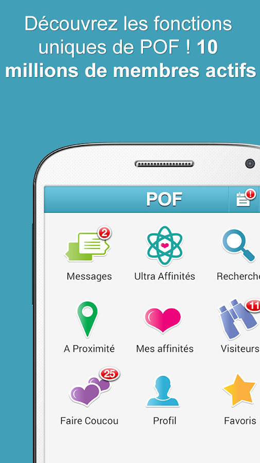 Application mobile site de rencontre gratuit