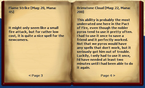Books Tome Of Fire Pyromancer Zezenia Online That being said the max hit with the tome of fire, occult neckalce and thammaron's is 40. zezenia online