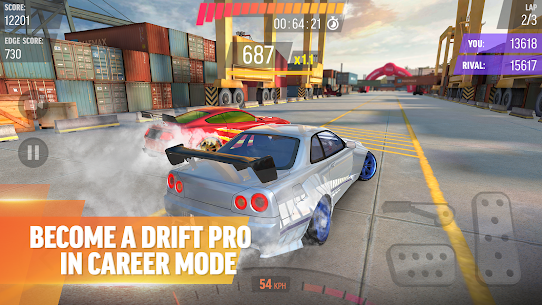 Drift Max Pro Car Drifting Game with Racing Cars Mod 2