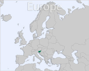 Slovenia location map