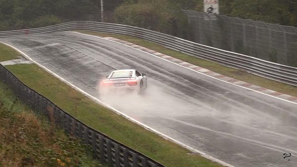 Audi R8 nurburgring save