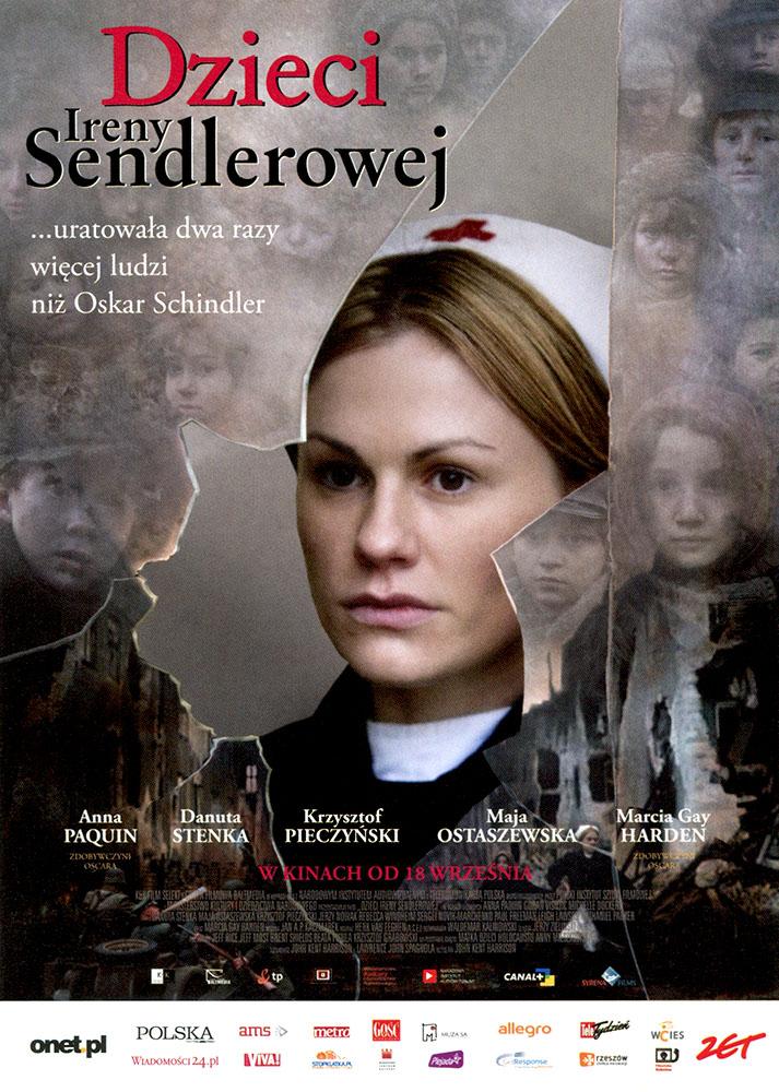Ulotka filmu 'Dzieci Ireny Sendlerowej (przód)'