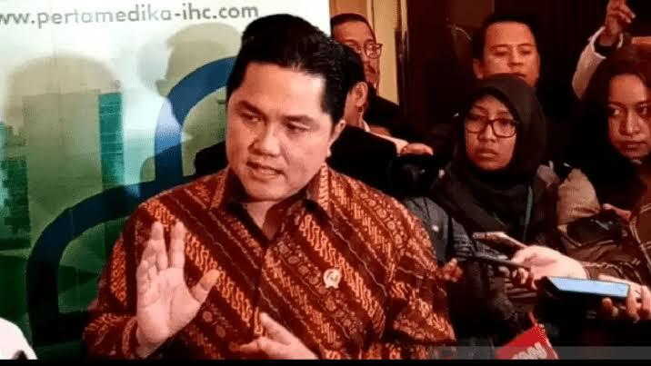 Sindiran Keras Erick Thohir ke Telkom: Mending Gak Ada Telkom, Langsung Aja Telkomsel ke BUMN