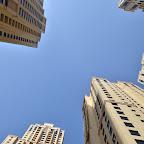 Palm Jumeirah Residence (gdzieś tam u góry spaliśmy)