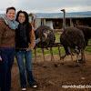 Даниелка и Линда във фермата за Щрауси в Долна Баня