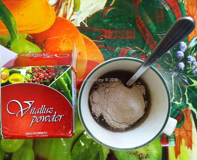 khasiat vitalluz powder