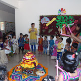 Bathukamma celebrations in Pre-Primary wing on 09th October 2015.