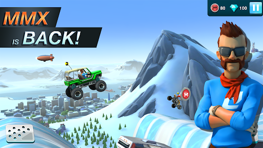 MMX Hill Dash 2 – Offroad Truck, Car & Bike Racing (MOD, Unlimited Gas/ Free Purchase) v9.00.12012 1
