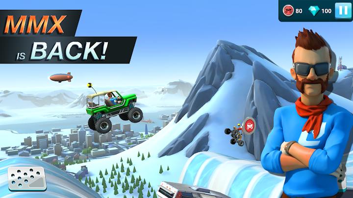 MMX Hill Dash 2 – Offroad Truck, Car & Bike Racing Android App Screenshot