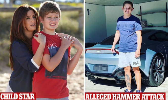 Home and Away child star, Felix Dean arrested after allegedly attacking a man with a hammer while out on bail for assaulting a cop