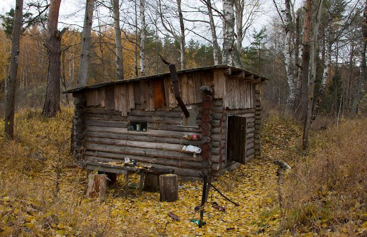 Охотничий домик на ур. Бибиково