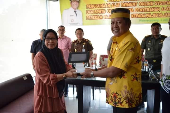 Genjot PAD, Pemda Soppeng Bersama Bank Sulselbar Launching Payment Online