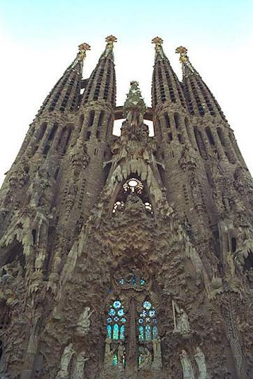 La Sagrada Familia, foto fachada