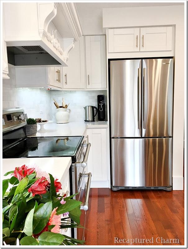 kitchen makeover fridge 1