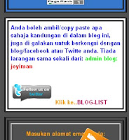 Blog Copy paste atau  CPP