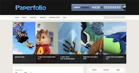 Paperfolio WordPress Theme