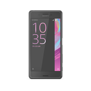 Xperia X Performance Black Front.png