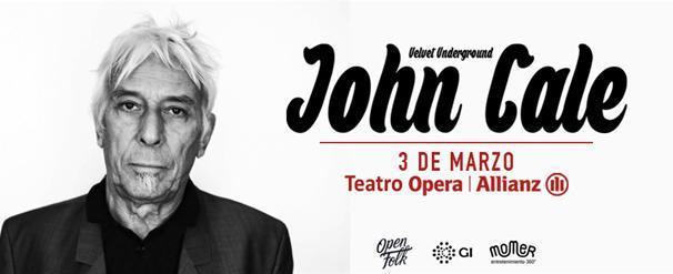 John cale de the velvet underground en argentina 2016 for Espectaculos en argentina 2016