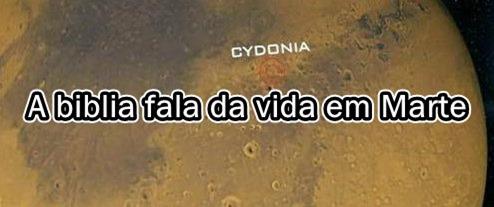 A biblia fala da vida em Marte