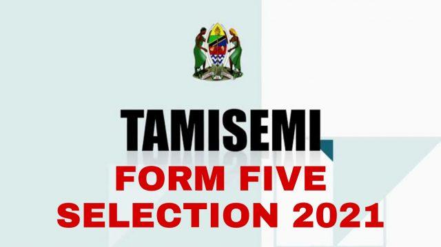 TAMISEMI Form Five Selection 2021: Waliochaguliwa Kidato Cha Tano 2021