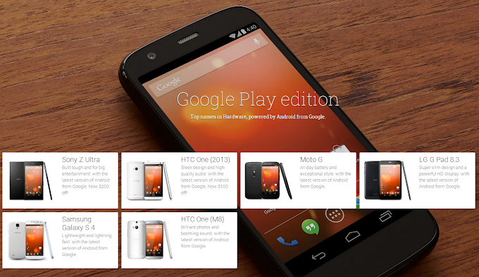 Google Play Edition handsets receive Android 4.4.3 software update