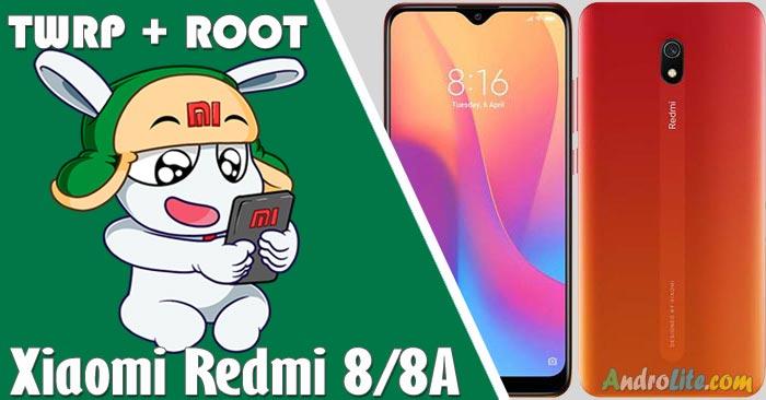 Cara Pasang TWRP + Root Redmi 8/8A Dengan/Tanpa PC