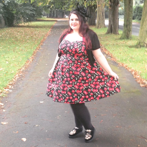 Plus Size Rockabilly Cherry Dress From Dolly And Dotty ...