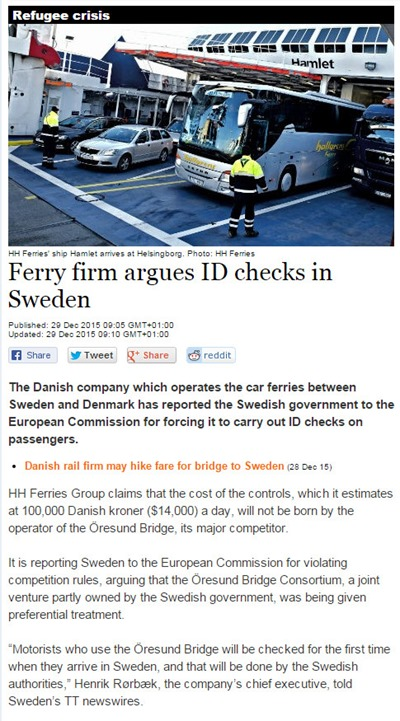 Sweden ID checks