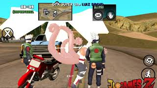 MELHOR!! GTA NARUTO + DOWNLOAD PARA ANDROID SUPER MEGA LITE 2018 SUPER REALISTA HD