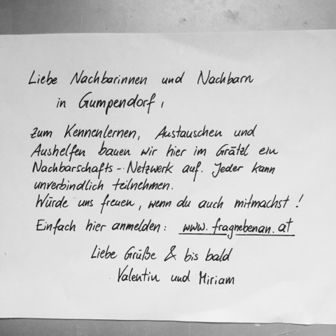 Brief kennenlernen schreiben
