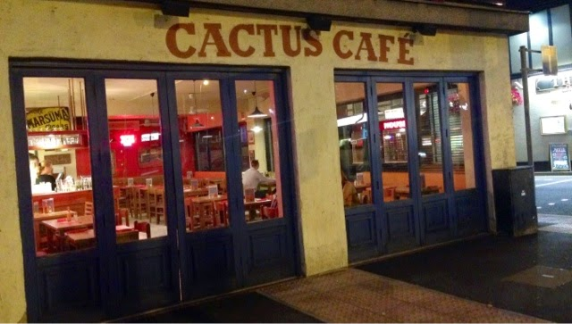 The outside of the Cactus Cafe in Loughborough