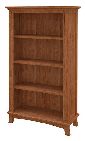 Glasgow Standard Bookshelf in Itasca Maple