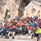 20 marzo 2011 Santuario Madonna della Corona (VR) salendo da Brentino