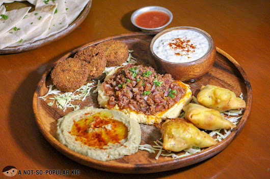 Kite Kebab Bar's Authentic Mediterranean Dishes in Makati City