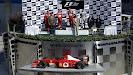 Podium 2002 F1 GP: 1. Barrichello 2. Schumacher 3. Coulthard