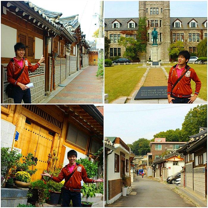 Narsis dulu di area Bukchon Hanok Village