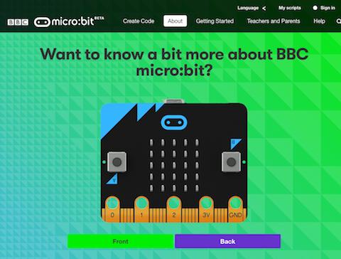 BBC micro:bit サイト