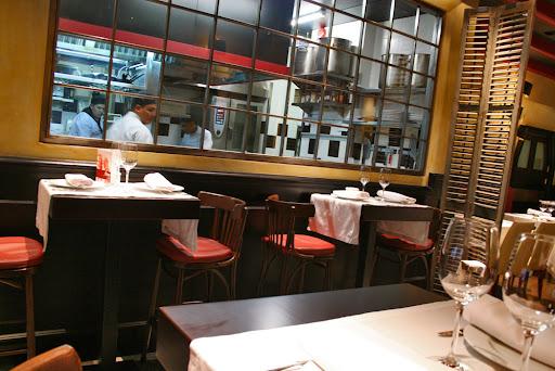 Vista de la cocina de Restaurante Oter