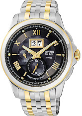 Jam Tangan Pria Tali Stainless Citizen Eco-drive : AW1260-50A