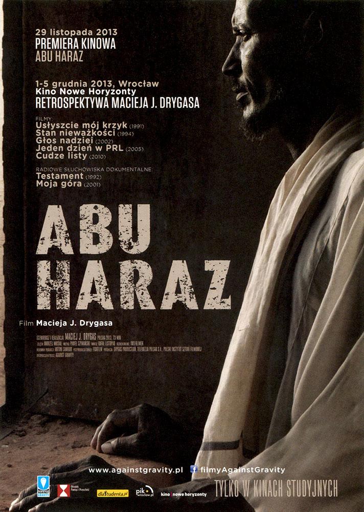 Ulotka filmu 'Abu Haraz (przód - wersja B)'