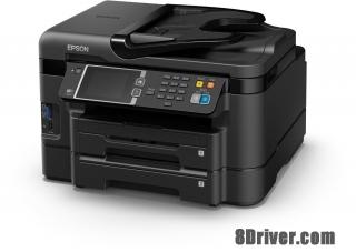 Download Epson WorkForce WF-3640DTWF printer driver and install guide