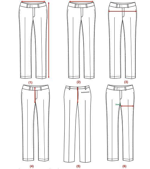 Thông Số Size Chuẩn Và Quy Cách đo đồng Phục Nam Congnghemayinfo