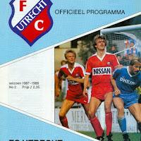 FCU Programmaboekjes 1987-88