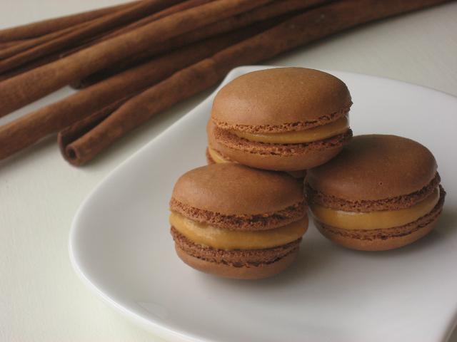 Macarons de lúcuma
