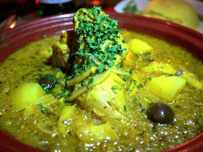 Tagine at Mamounia Lounge