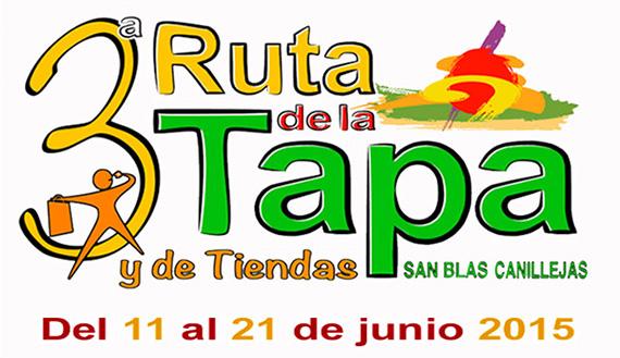 III Ruta de la Tapa en San Blas-Canillejas, del 11 al 21 de junio de 2015