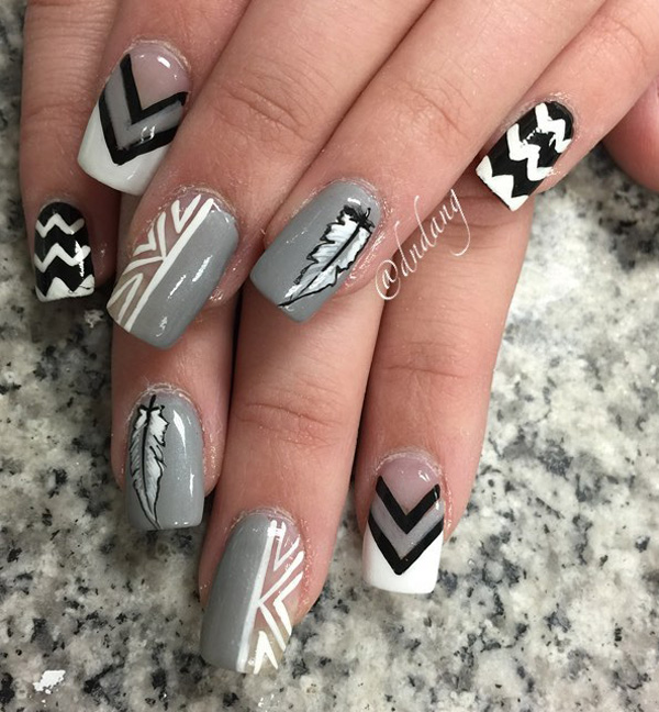 latest winter nail colors 2017 - style you 7